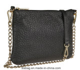 Padrão Lichee PU Corpo Cruz de couro bag bolsa de mulheres de designer