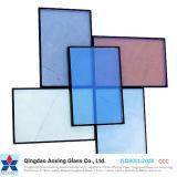 Color/cristal aislante transparente de cristal de construcción