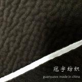 Tissu en suède revêtu de brème avec un tricot