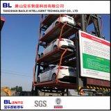 Vertikale, die mechanisches Parken-System verteilt