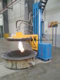 Sistema de aquecimento de lâminas para aquecedores de fundição / caldeira