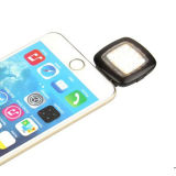 Ficha tipo jack de 3,5 mm Selfie luz de flash de LED para ios/Telefone Android