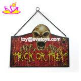 De in het groot Goedkope Houten Tekens van Halloween voor Muur die W09d045 hangen