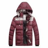 Mens 형식 겨울 두건이 있는 고품질 패딩 재킷