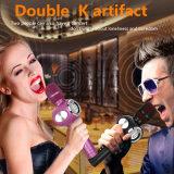 Altoparlante di Bluetooth con il microfono magico senza fili di Bluetooth per karaoke