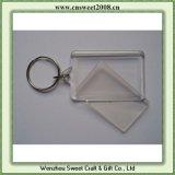 Fomento del diseño en blanco de encargo de acrílico Llavero (S0P070)