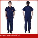 Подгонянная форма одежды работы высокого качества хлопка (W170)