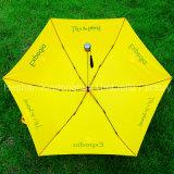 Tre promozionali volta gli ombrelli sottili con il marchio personalizzato (FU-3621N)