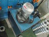 Folha de aço Automtic completa da chapa de tejadilho máquina de formação de rolos a frio