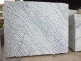 Mattonelle e lastre di marmo bianche della Cina del rivestimento della parete