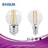 고품질 4W 6W 8W E27 LED 필라멘트 전구