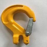 Unterschiedlicher Gabelkopf-Riemen-Haken der Verbrauch-Fessel-G80 mit Verriegelung