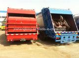Vrachtwagen van de Collector van het Vuilnis van 3 12 Wielen van China de Euro 6X4 (18 kubieke meters)