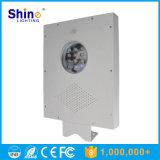 Baixa luz solar Integrated do jardim do diodo emissor de luz do preço de fábrica 12W 10W