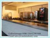 Carrello del chiosco di vendita del rimorchio di Westerncooking intero fatto in Cina da Qingdao