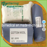 Paper Pouch Packing를 가진 흡수성 Cottonwool Roll