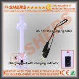 Портативный солнечный свет СИД с 1W электрофонарем, USB (SH-1971A)