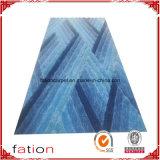 Tapis Shaggy décoratifs mélangés de couverture de région de couleurs de qualité
