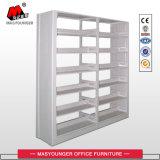 金属のオフィスの記憶の棚、記憶空間5つの層の、単一の側面