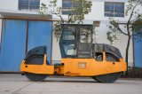 8-10 rouleau de route statique de moteur diesel de tonne