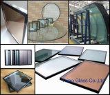 セリウムの証明のオフィスの区分に使用する絶縁されたガラス