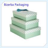 La promotion de l'impression papier artisanal de luxe personnalisées Coffrets cadeaux