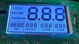 Индикация LCD этапа числа 7 Tn 6