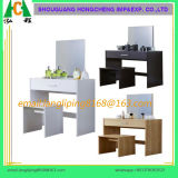 Flat Pack Melamine MDF MFC Wood Dressing Table para quarto