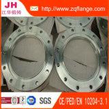 Acier au carbone de galvanoplastie Zinc Socket Welding Flange