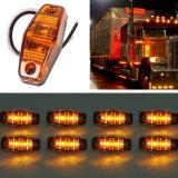 트럭 픽업을%s 방수 보편적인 호박색 LED 옆 마커 빛 램프