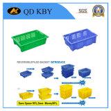 Caixa plástica empilhada reversível da modificação Y20