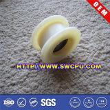 Het naar maat gemaakte Rubber Met een laag bedekte Wiel van de Gietmachine met het Centrum van het Staal