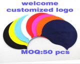 Cappello personalizzato di nuoto del silicone di stampa