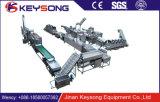 Microplaquetas de batata industriais comerciais do uso da fábrica de máquina do alimento de Jinan que fritam a máquina