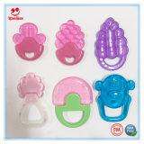 Speelgoed het van uitstekende kwaliteit van het Tandjes krijgen van de Baby van EVA met Handvat