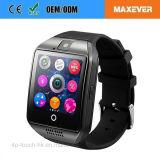 Bluetooth Q18の新しく熱い販売のスマートな腕時計の電話
