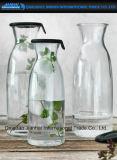 Bouteille vide de boisson en verre de boissons de Chaud-Vente pour le jus de citron