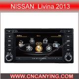GPS를 가진 닛산 Livina 2013년, Bluetooth에서 특별한 차 DVD 플레이어. A8 칩셋 이중 코어 1080P V-20 디스크 WiFi 3G 인터넷으로. (CY-C274)