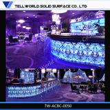 Parte superiore dell'annuncio pubblicitario LED di iso contro del ristorante del cassiere moderno approvato del contatore da vendere