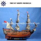 عالة صنع سفينة خشبيّة نموذجيّة