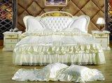 Belle Princesse lit en cuir souple, chambre à coucher Mobilier