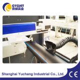 Machine en ligne d'inscription de laser de fibre de Cycjet pour la pipe de HDPE&PVC