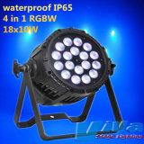 18X10W LED RGBW par la lumière d'éclairage extérieur éclairage étanche (QC-LP022B)