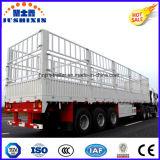 Ограждающ Semi трейлер/поголовье транспортируйте трейлер тележки коль Semi