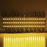 Tipo SMD 5050*3 Luz do Módulo de leds amarelos com marcação RoHS Aprovação