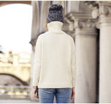 タートルの首(13brdw092)が付いている女性のカシミヤ織のセーター