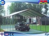Pabellón prefabricado/Carport/toldo de la estructura de acero (SSW-C-002)