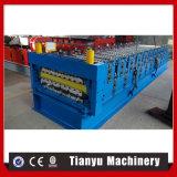 Heißer Verkauf in der russischen Furchung-Metalldach-Panel-doppelte Schicht-Rolle, die Maschine bildet