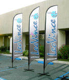 Whosale outdoor advertising personalizado verious logo banner flag