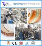 Linha de produção plástica da borda de borda do PVC/sistema de extrusora gêmeo cónico do parafuso